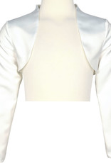 Happy Girls Happy Girls Bolero off white in satijn stof