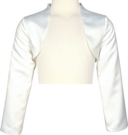 Happy Girls Bolero off white in satijn stof