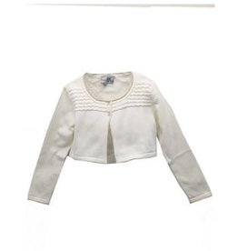 Happy Girls Happy Girls  vestje off white met gouden randje