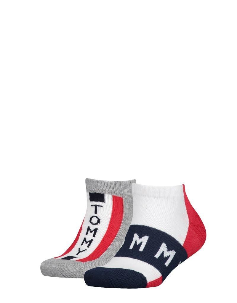 Tommy Hilfiger Tommy Hilfiger Sneaker 2 paar rood wit blauw