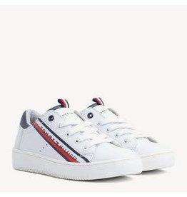 Tommy Hilfiger Tommy Hilfiger Sneaker wit met schuine streep