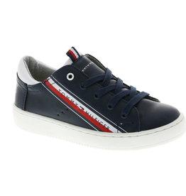 Tommy Hilfiger Tommy Hilfiger Sneaker donkerblauw met schuine streep