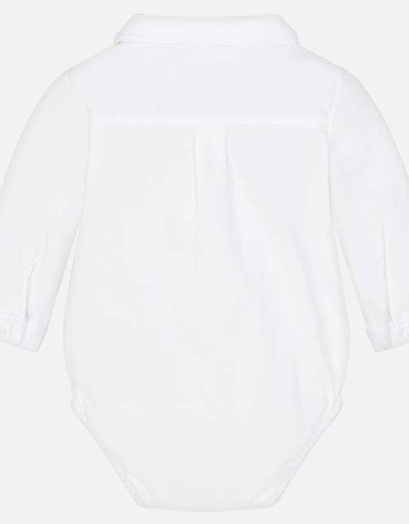Mayoral Mayoral Romper/Blouse off whitevan tricot