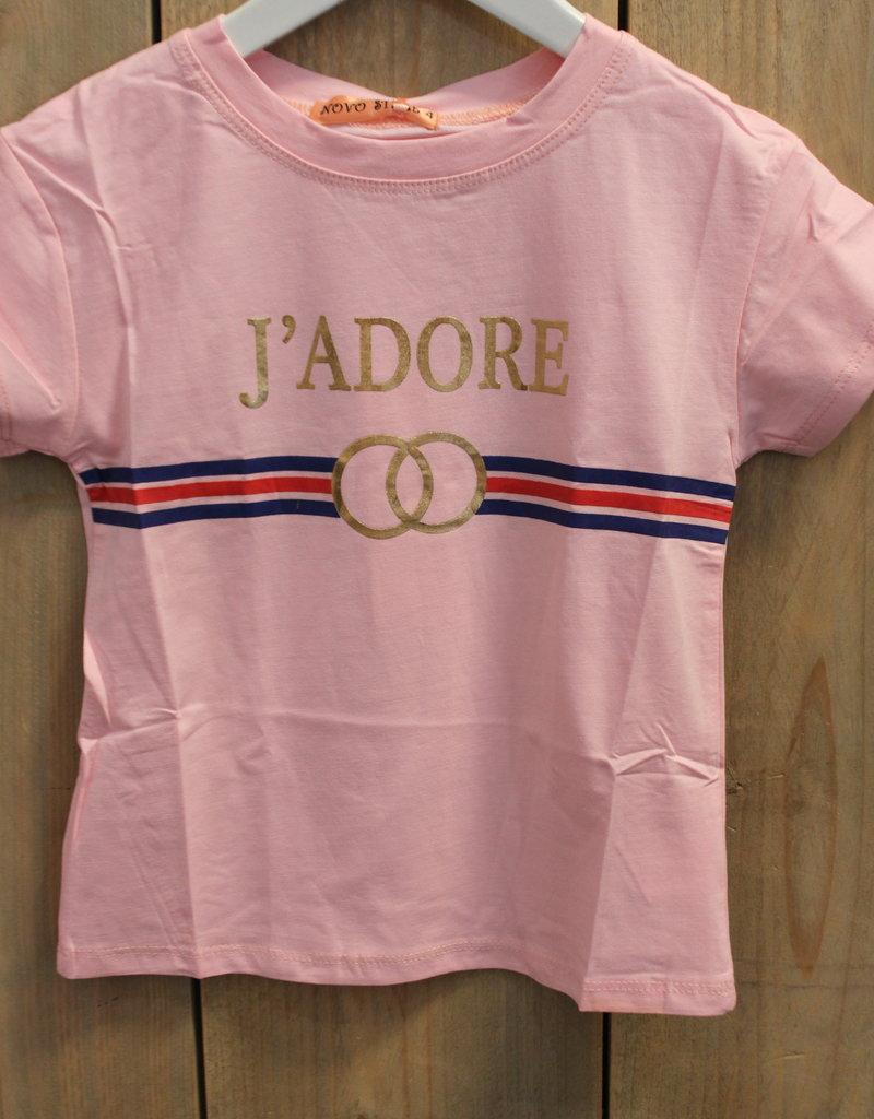 """Villa Shirt J""""ADORE roze"""