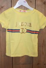 """Villa Shirt J""""ADORE geel"""