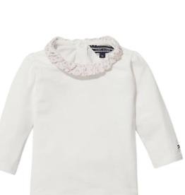 Tommy Hilfiger Tommy Hilfiger Shirt off white met roesel kraagje
