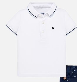 Mayoral Mayoral Printed polo White