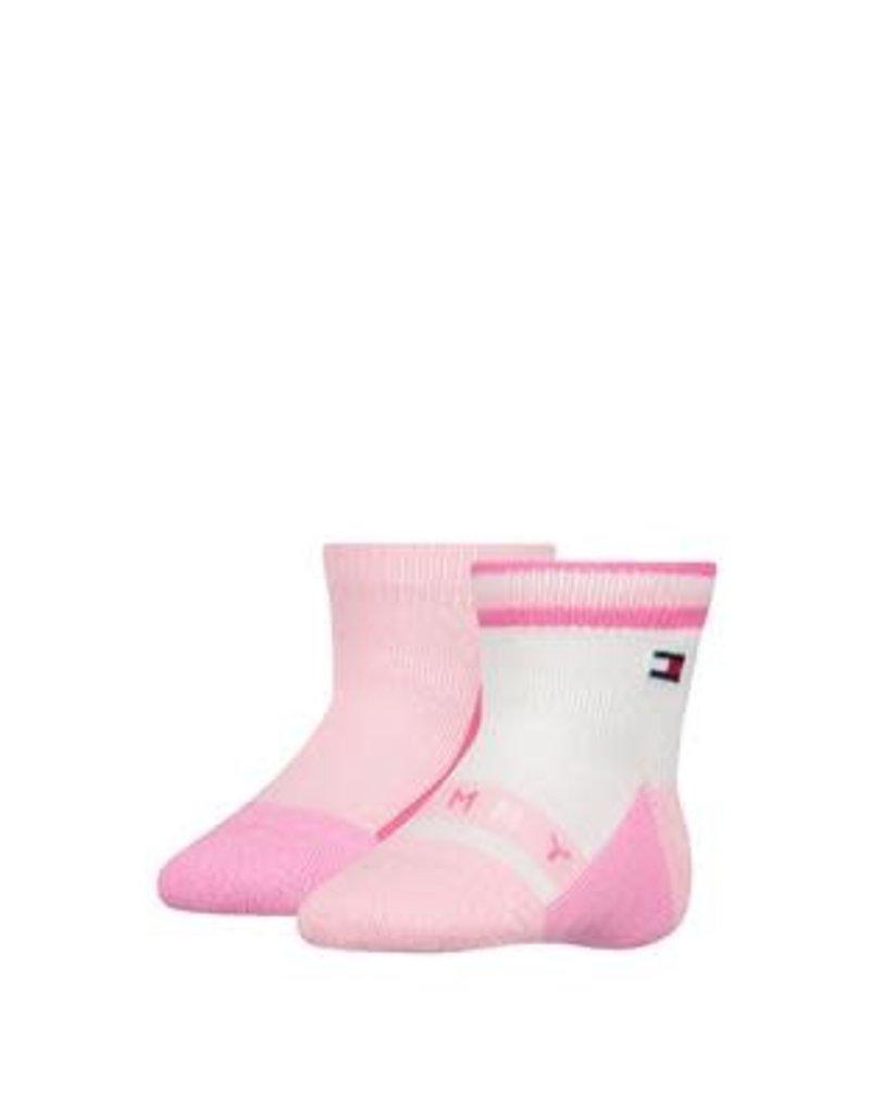 Tommy Hilfiger Tommy Hilfiger Sokjes  roze