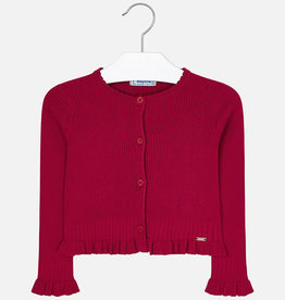 Mayoral Mayoral Knitted cardigan Red - 04305
