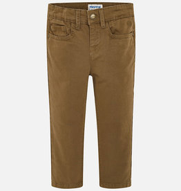 Mayoral Mayoral 5 pocket regular fit pants Brown - 00041