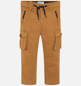 Mayoral Mayoral Chino cargo pants Caramel - 04515