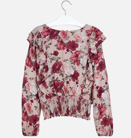 Mayoral Mayoral Ruffled blouse Ruby - 07105