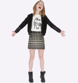 Mayoral Mayoral Checkered skirt Black - 07903
