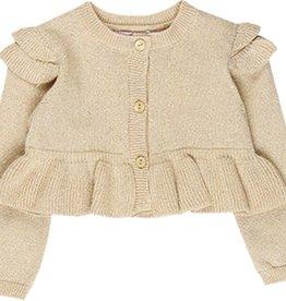 Boboli Boboli Knitwear jacket for baby girl beige 708072