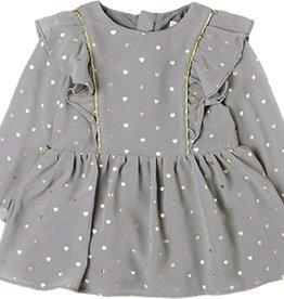 Boboli Boboli Chiffon dress for baby girl print 708083