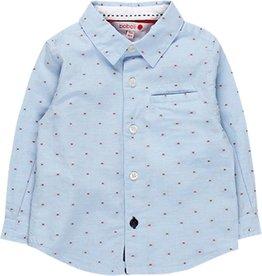 Boboli Boboli Long sleeves shirt for baby boy BLUE 718017