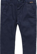 Boboli Boboli Stretch twill trousers for baby boy NAVY 718040
