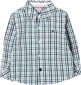 Boboli Boboli Poplin shirt check for baby boy checks 718185