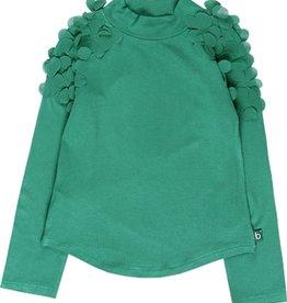 Boboli Boboli Stretch knit t-Shirt for girl chlorophyll 728063