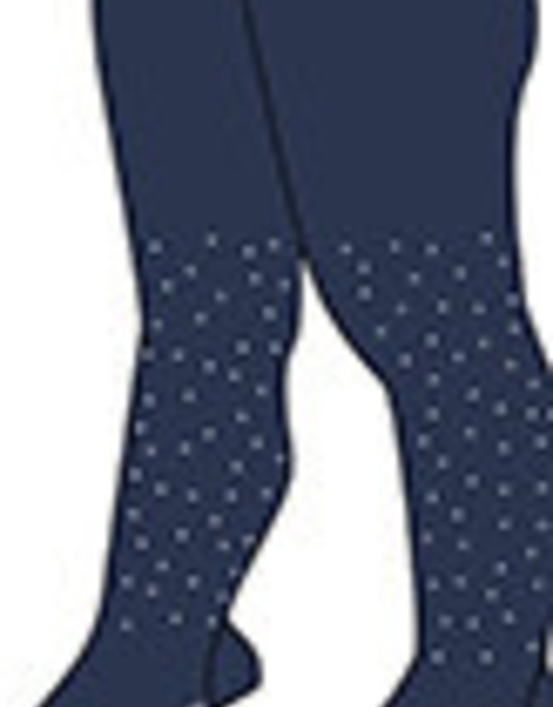 Boboli Boboli Thick tights for baby girl NAVY 708061