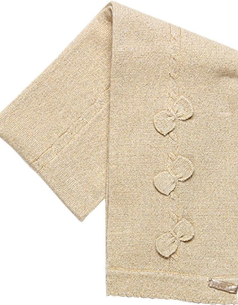 Boboli Boboli Knitwear scarf for baby girl beige 708139