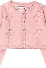 Boboli Boboli Knitwear jacket for baby girl pink 708230