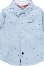 Boboli Boboli Long sleeves shirt for baby boy BLUE 718017