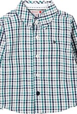 Boboli Boboli Poplin shirt check for baby boy checks 718185