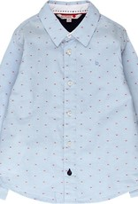 Boboli Boboli Long sleeves shirt for boy BLUE 738075