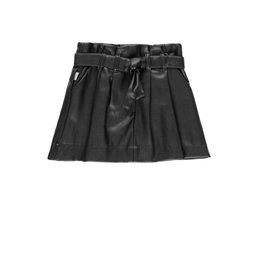 Boboli Boboli Synthetic leather skirt for girl BLACK 728535