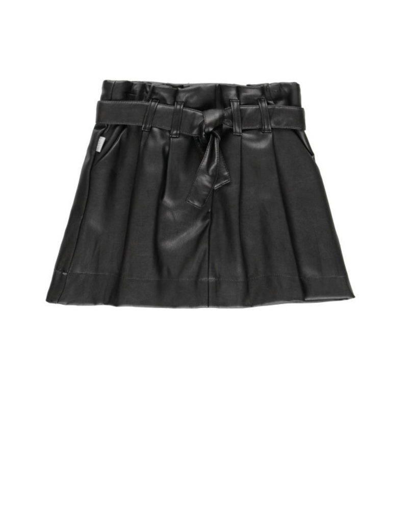 Boboli Boboli Synthetic leather skirt for girl BLACK 728535