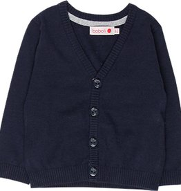 Boboli Boboli Knitwear jacket for baby boy NAVY 718039