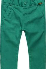 Boboli Boboli Stretch twill trousers for baby boy chlorophyll 718040