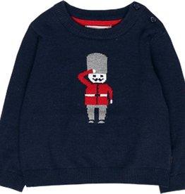 Boboli Boboli Knitwear pullover for baby boy NAVY 718073