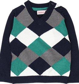 Boboli Boboli Knitwear pullover for baby boy NAVY 718231