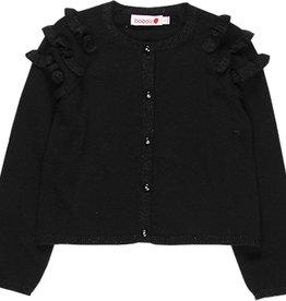 Boboli Boboli Knitwear jacket for girl BLACK 728041
