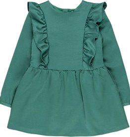 Boboli Boboli Satin dress fantasy for girl chlorophyll 728142