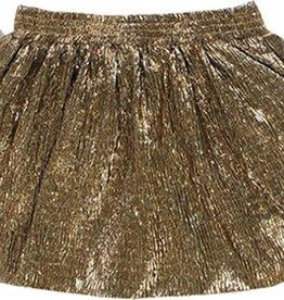 Boboli Boboli Knit skirt for girl gold 728254