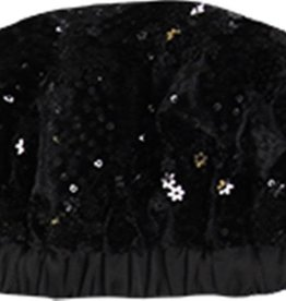 Boboli Boboli Velvet hat for girl BLACK 728557
