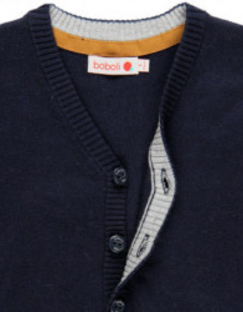 Boboli Boboli Knitwear jacket for boy NAVY 738042