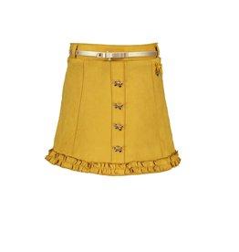 Le Chic Le Chic skirt A-line suede-look C908-5720 Golden Honey