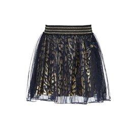 Le Chic Le Chic petticoat leopard spots C908-5721 Blue Navy