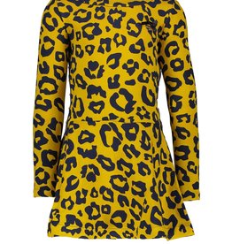 Le Chic Le Chic dress leopard spots C908-5808 Golden Honey