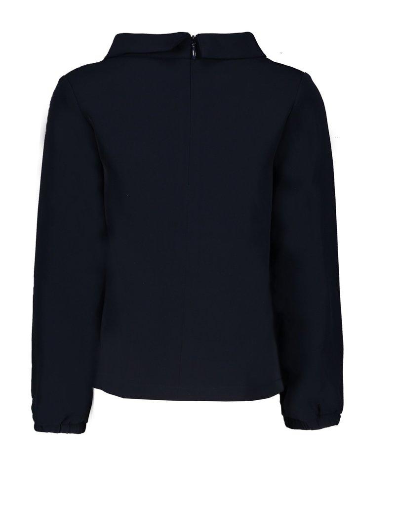 Le Chic Le Chic blouse jersey d'elegance C908-5133 Blue Navy