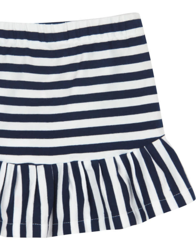 Boboli Boboli Stretch knit skirt for girl stripes