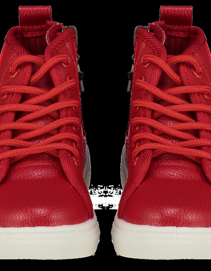A'Dee A Dee Boots STAR rood met veter