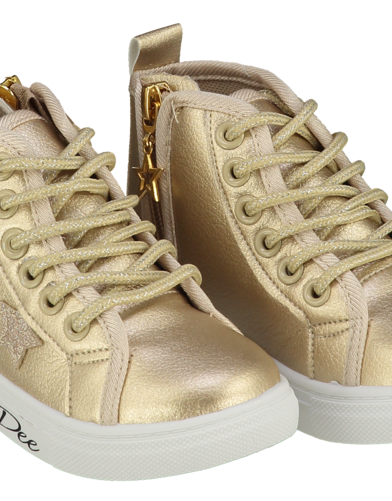 A'Dee A Dee Boots STAR goud met veter