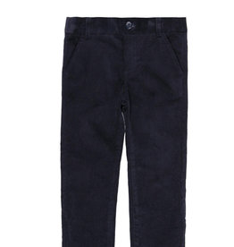 Boboli Boboli Microcorduroy trousers stretch for boy NAVY 738480