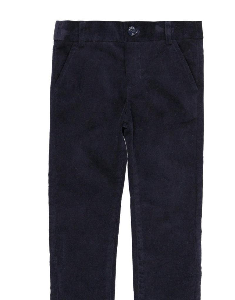 Boboli Boboli Microcorduroy trousers stretch for boy NAVY 738480