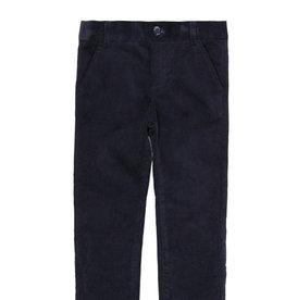 Boboli Boboli Microcorduroy trousers stretch for baby boy NAVY 718275